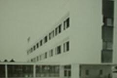 昭和41年4月 本館(鉄筋3階1部4階建)