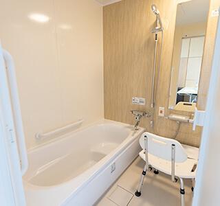 特別室内浴室